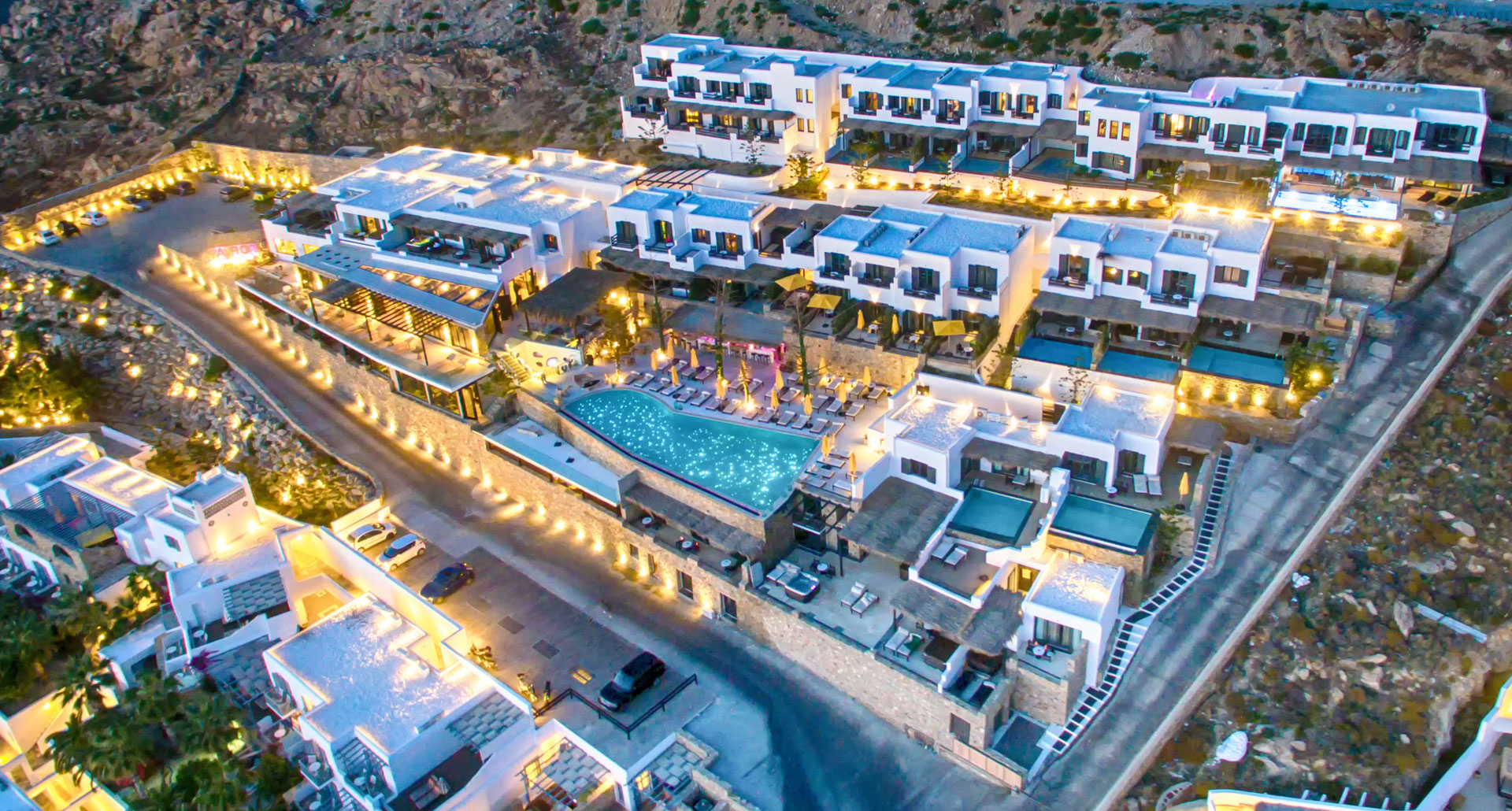 Mykonian Utopia Resort - boutique hotel in Mykonos