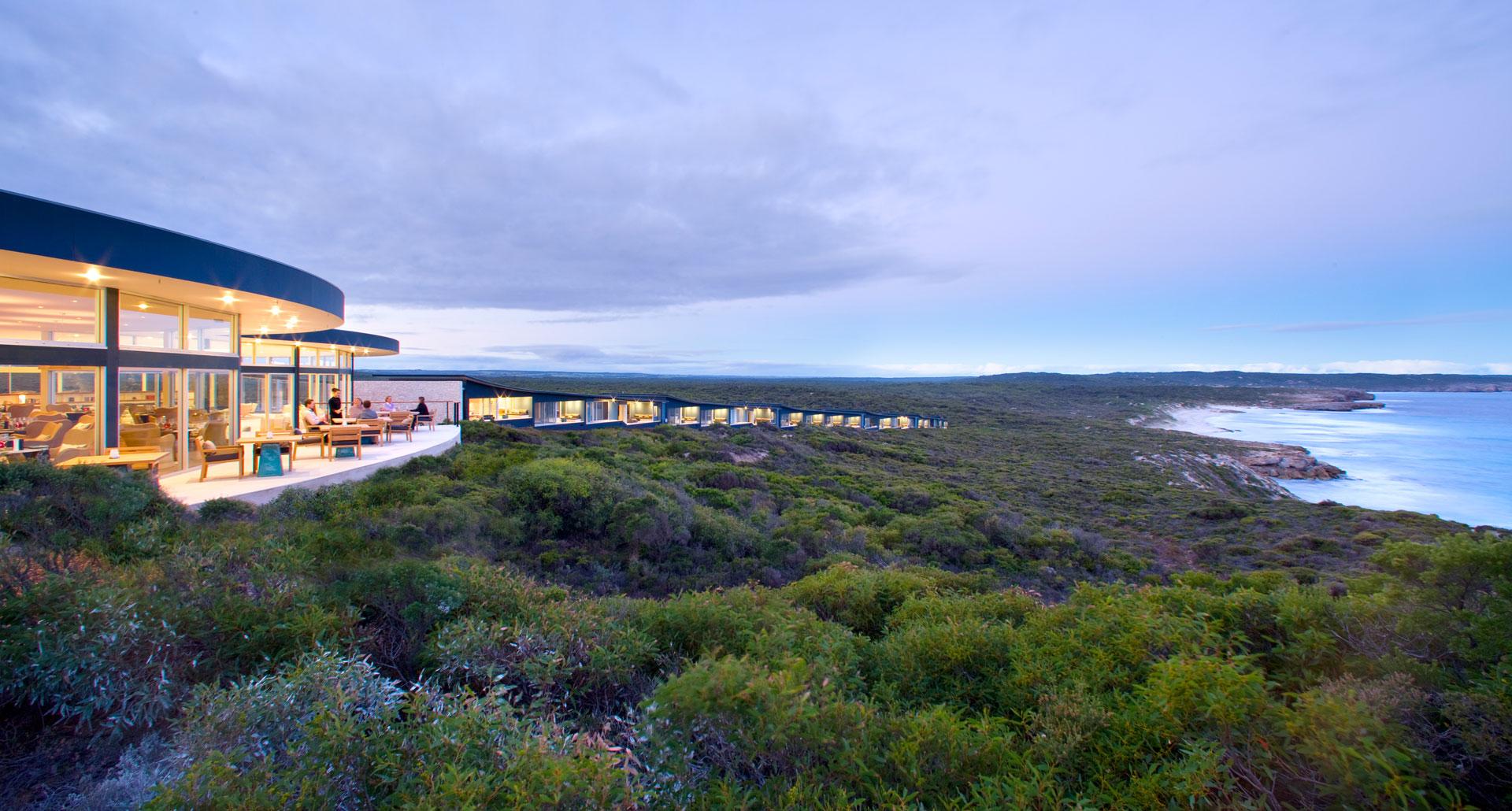 Southern Ocean Lodge - boutique hotel in Kangaroo Island
