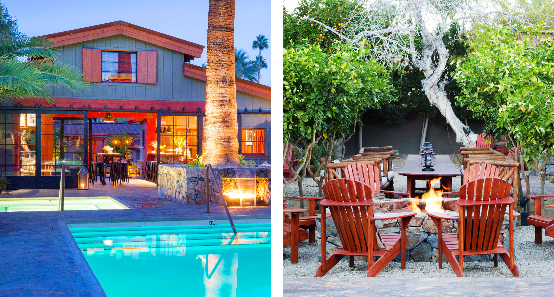 Sparrows Lodge - boutique hotel in Palm Springs