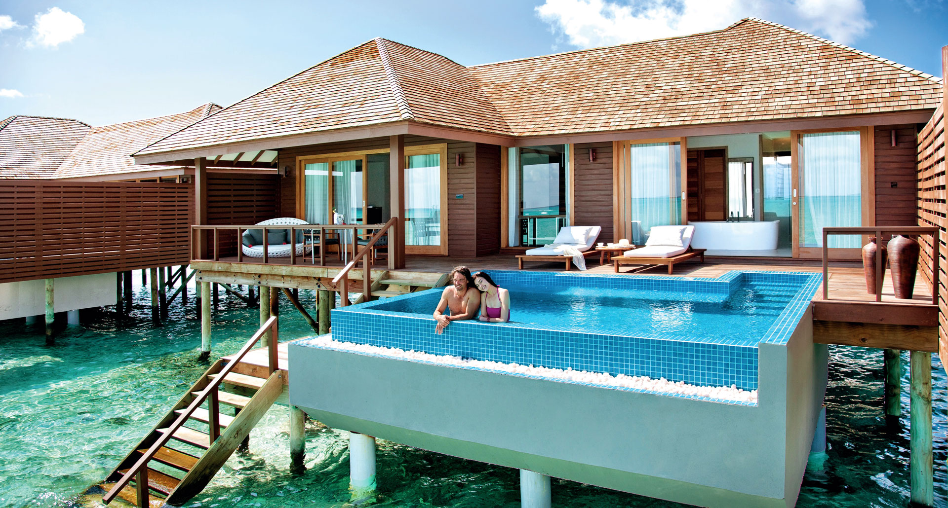 Hideaway Beach Resort and Spa - boutique hotel in the Maldives