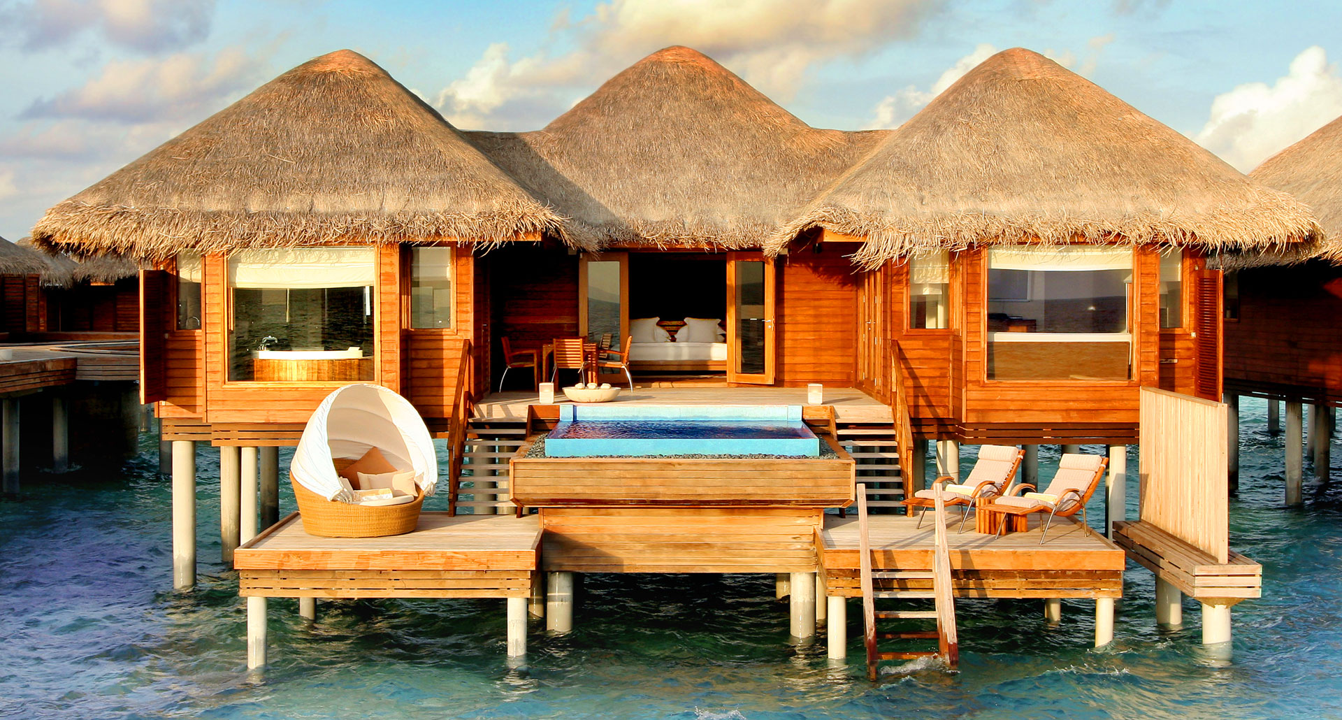 Huvafen Fushi - boutique hotel in the Maldives