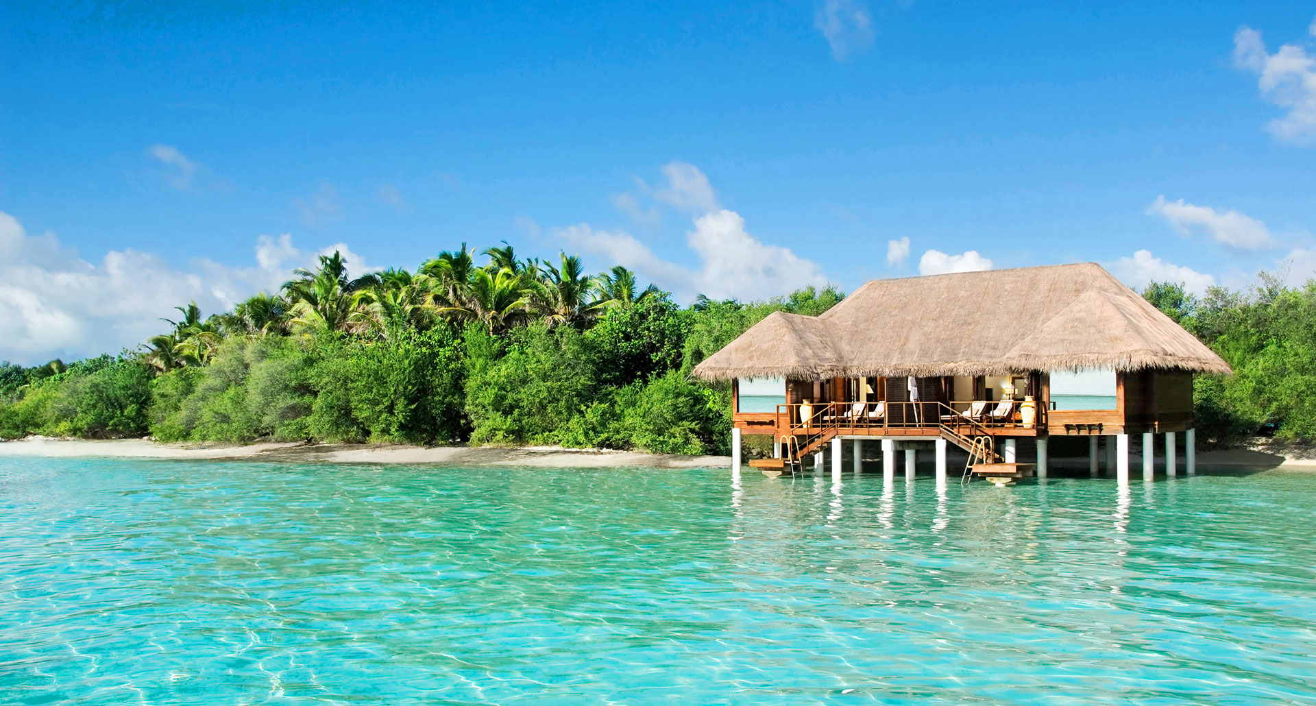 Taj Exotica Resort and Spa - boutique hotel in The Maldives