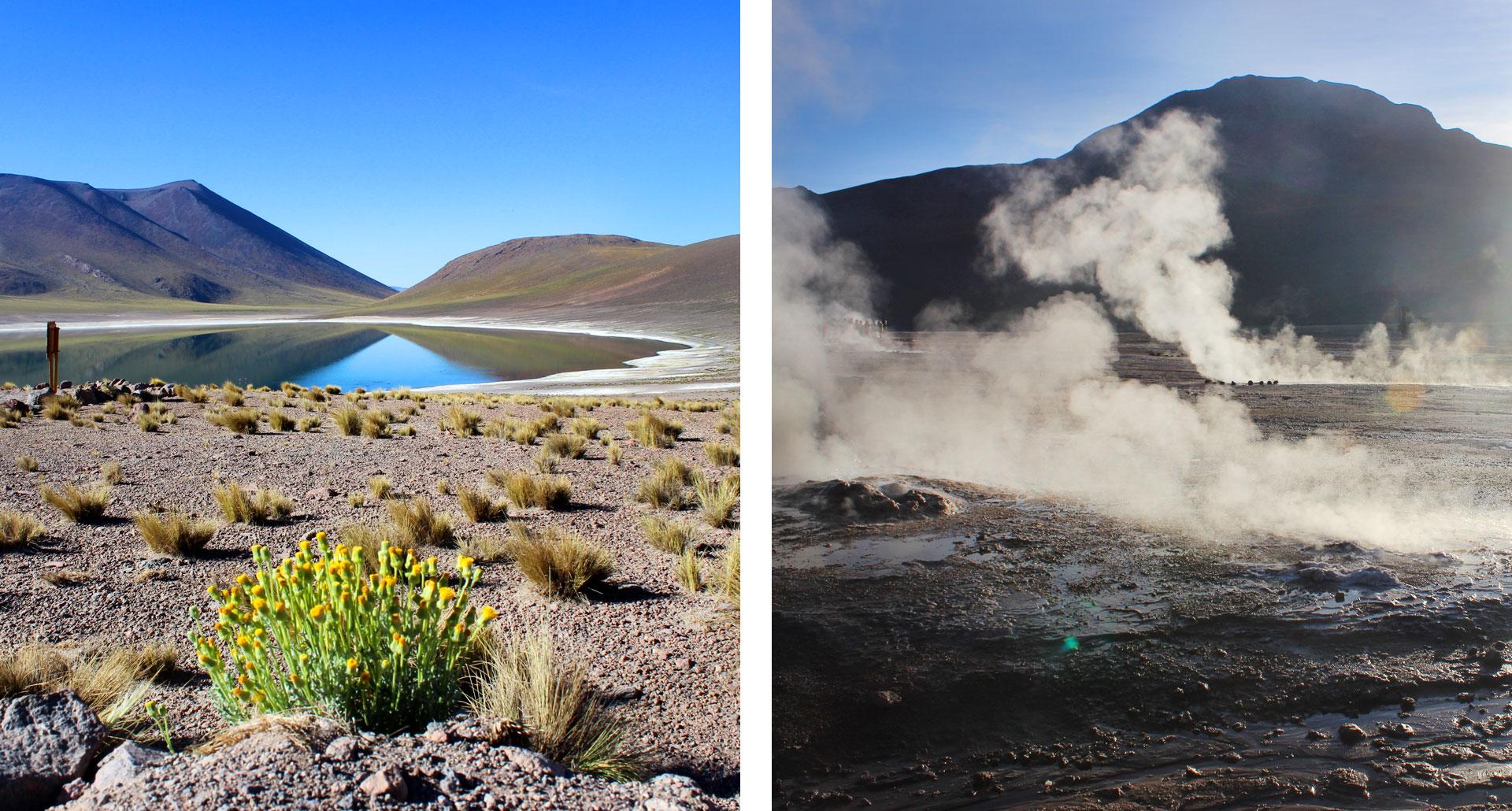 Le lagune e i geyser di Atacatama