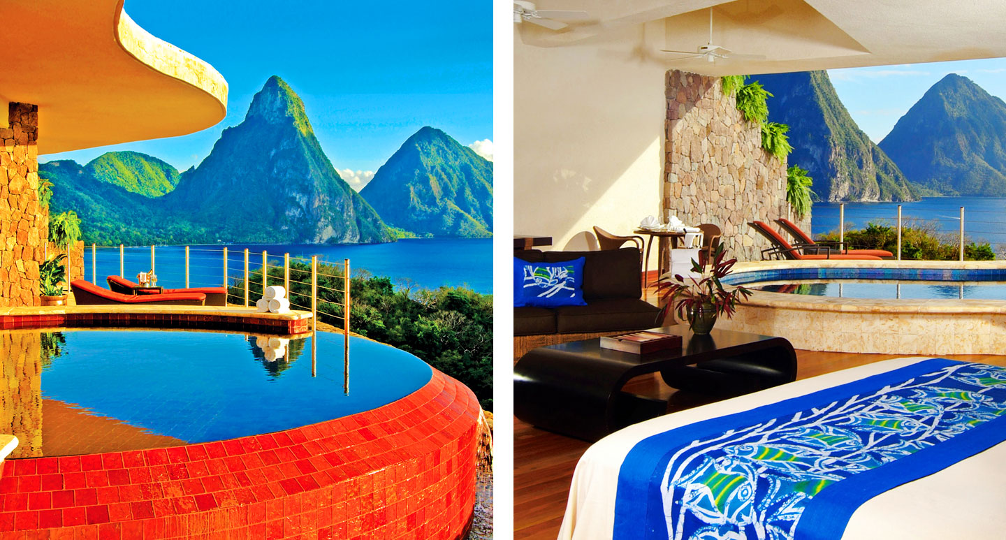 Jade Mountain - boutique hotel in St. Lucia