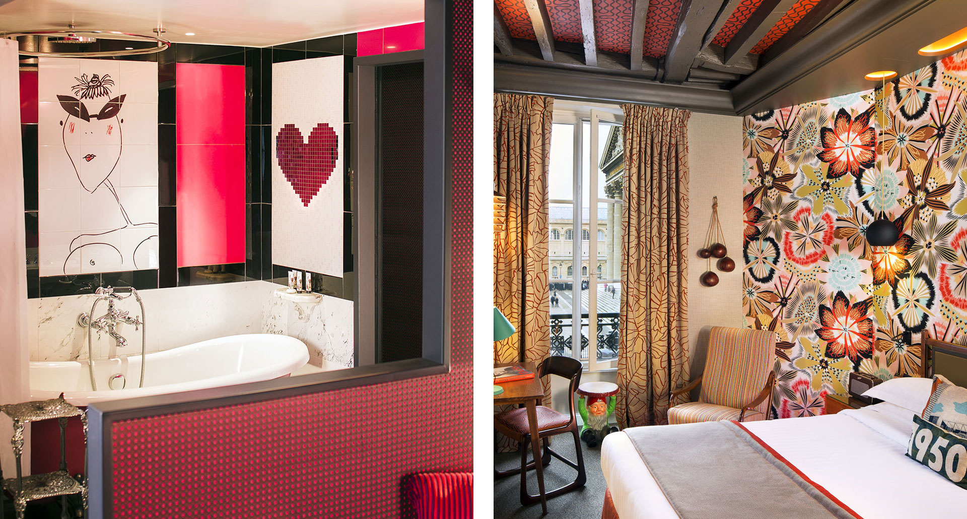 Le Dames du Pantheon - boutique hotel in Parigi