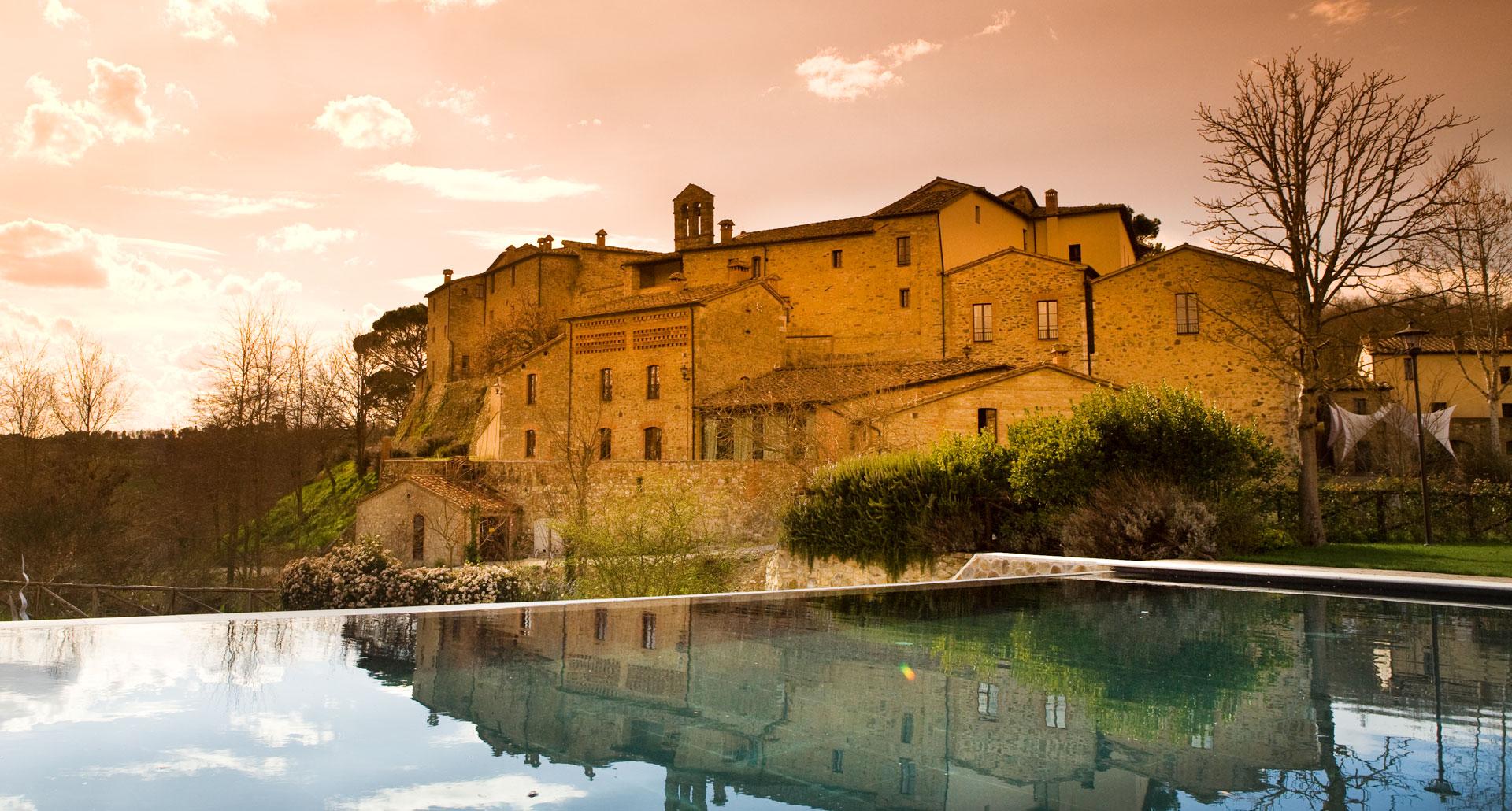 Castel Monastero - boutique hotel in Toscana