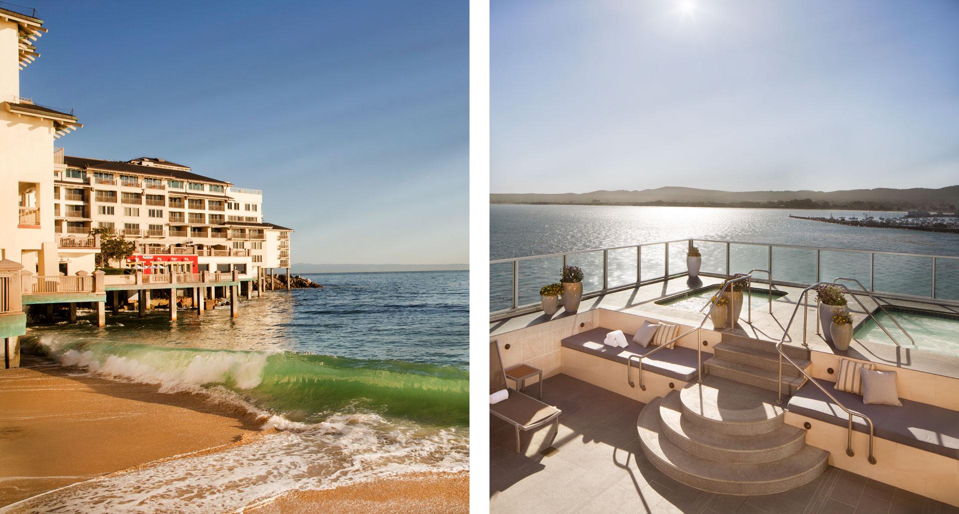 Monterey Plaza Hotel - boutique hotel in Monterey