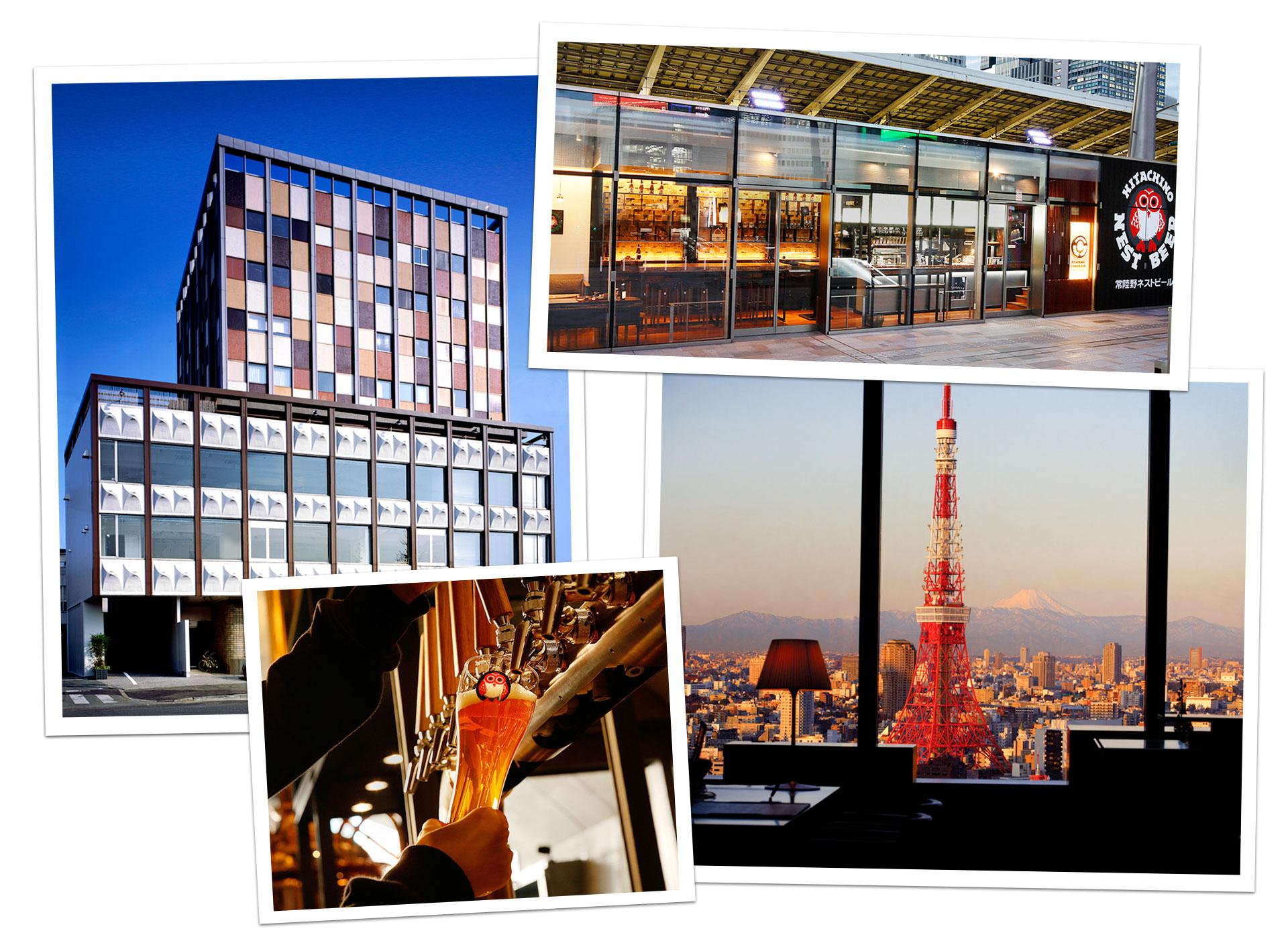 Claska, Hitachino Beer & Park Hotel Tokyo