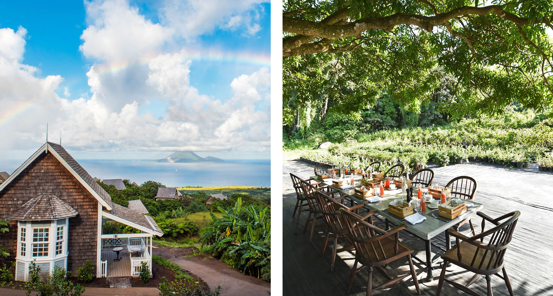 Belle Mont Farm - boutique hotel in St Kitts