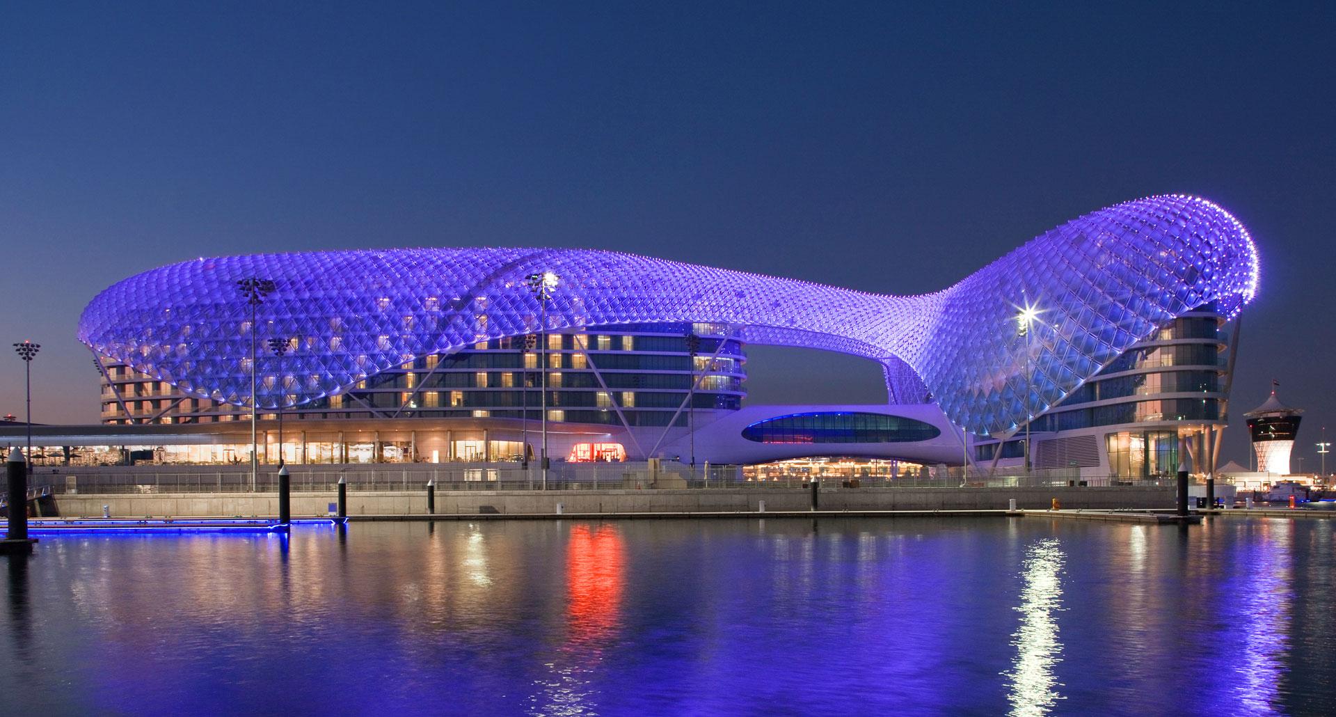 Yas Viceroy Abu Dhabi - boutique hotel in Abu Dhabi