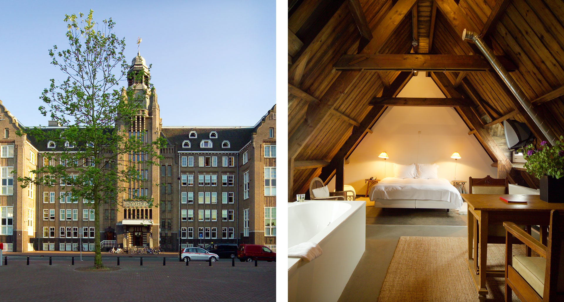 Lloyd Hotel - boutique hotel in Amsterdam