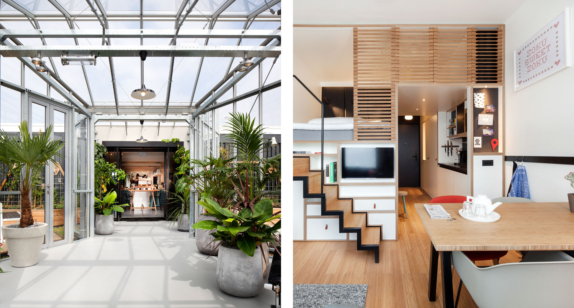 Zoku Amsterdam - boutique hotel in Amsterdam