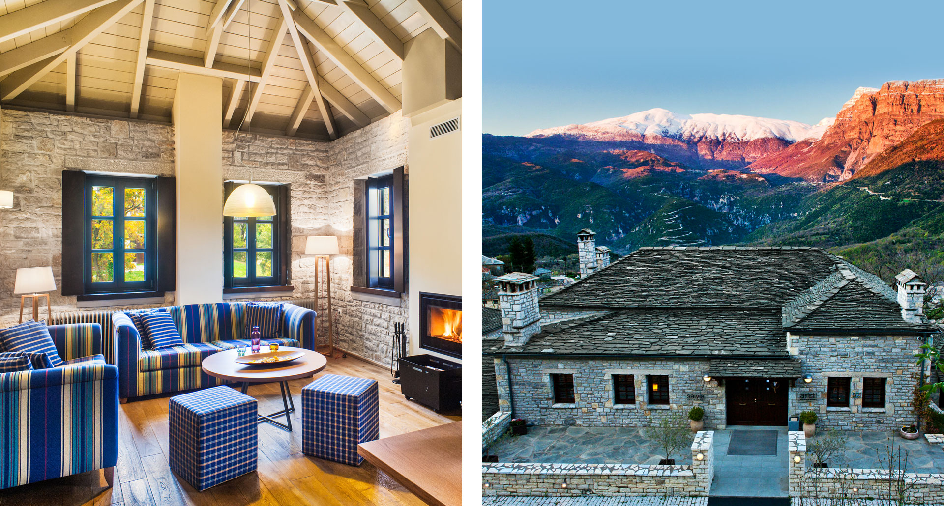 Aristi Mountain Resort - boutique hotel in Vikos–Aoös National Park