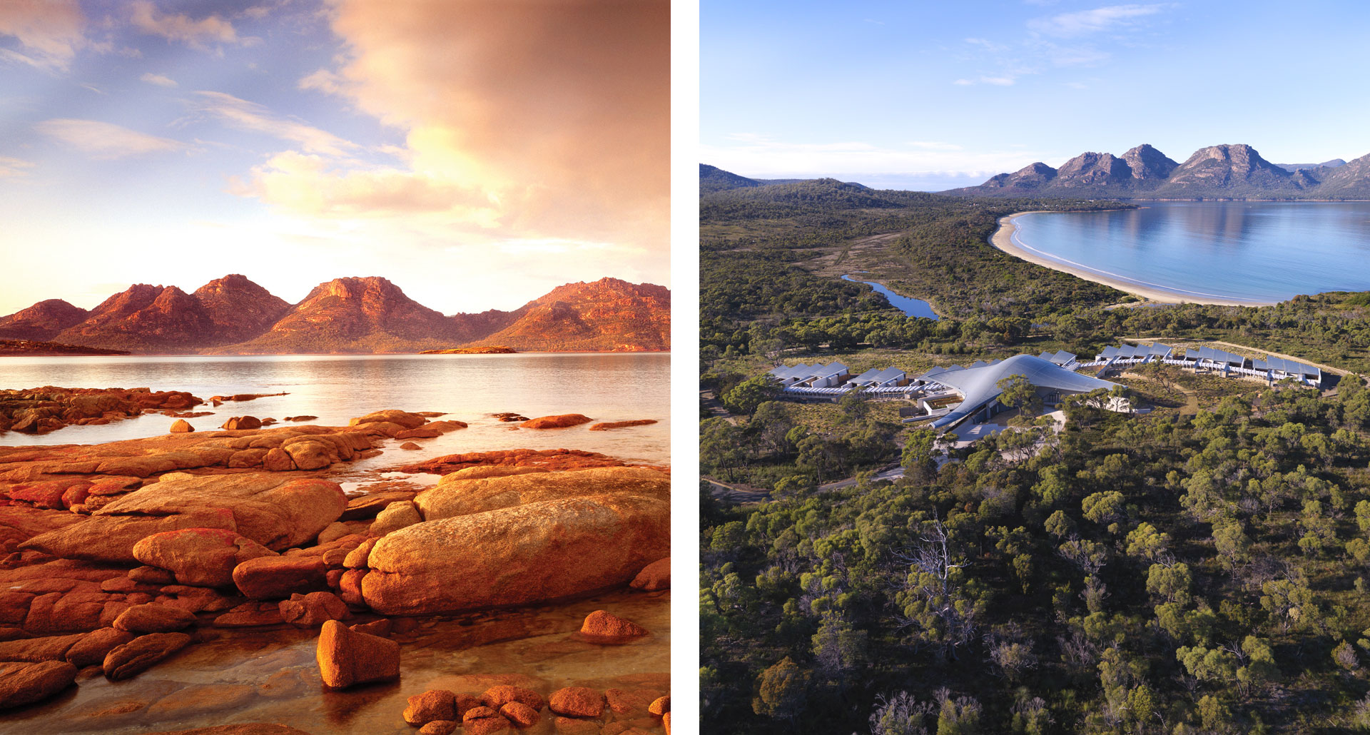Saffire Freycinet - boutique hotel in Freycinet National Park
