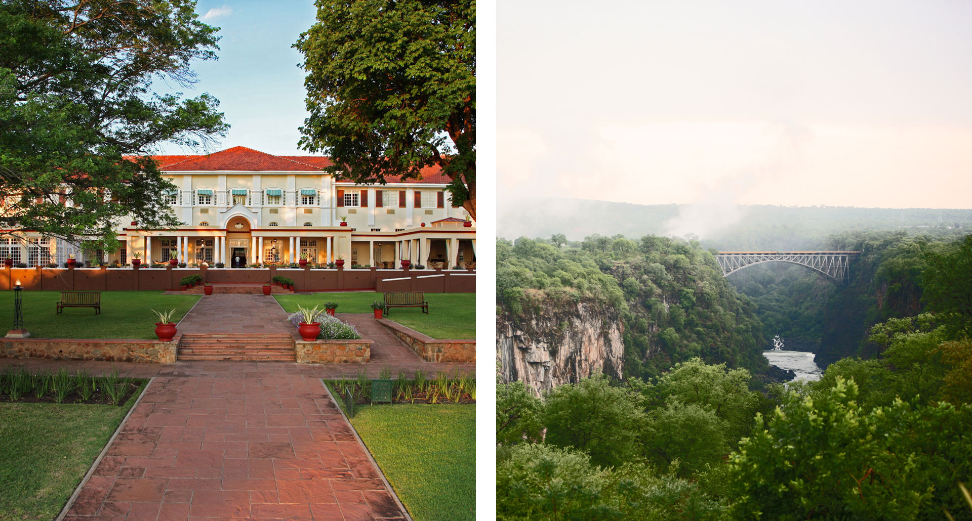 The Victoria Falls Hotel - boutique hotel in Victoria Falls National Park