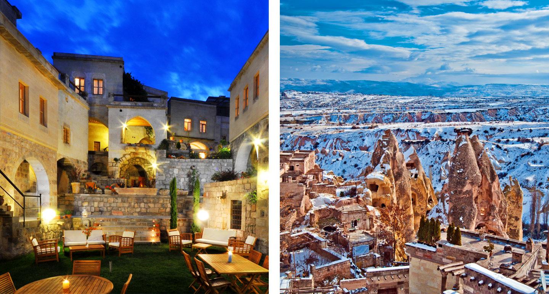 Taskonaklar Rocky Palace - boutique hotel in Uçhisar