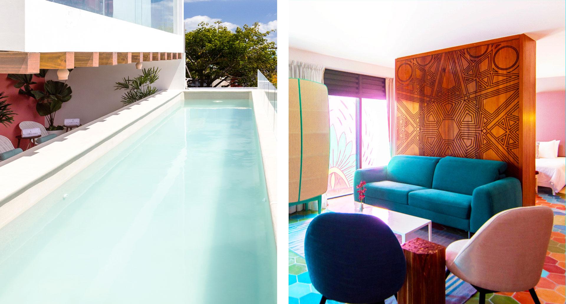 Hotel Morgana - boutique hotel in Playa del Carmen
