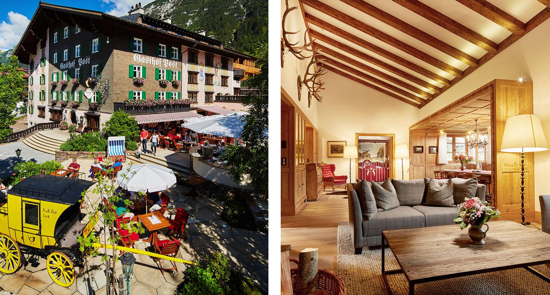 Post Lech Arlberg - boutique hotel in Lech am Arlberg