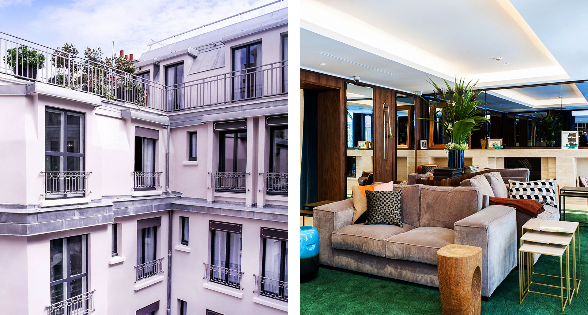 Hotel Eiffel Blomet - boutique hotel in Paris