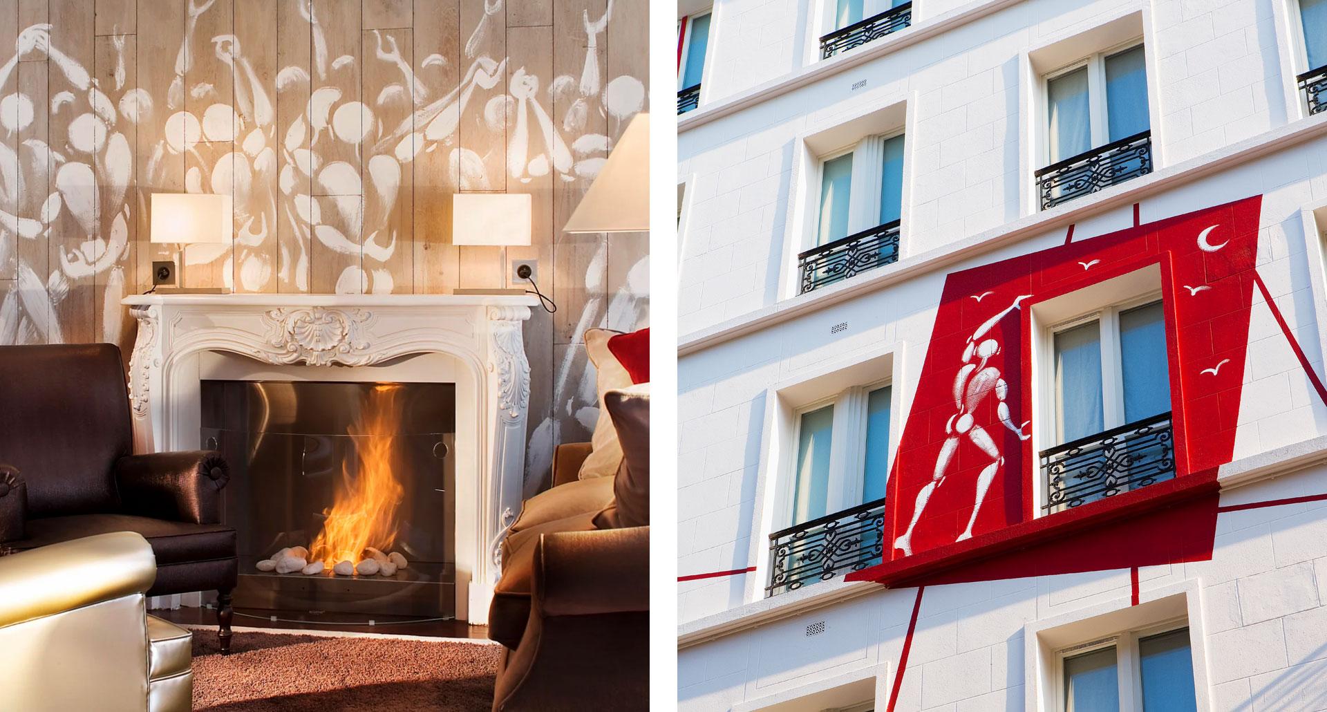 Hotel Des Academies Et Des Arts - boutique hotel in Paris