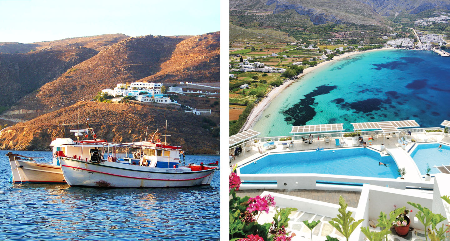 Aegialis Hotel and Spa - boutique hotel in Amorgos