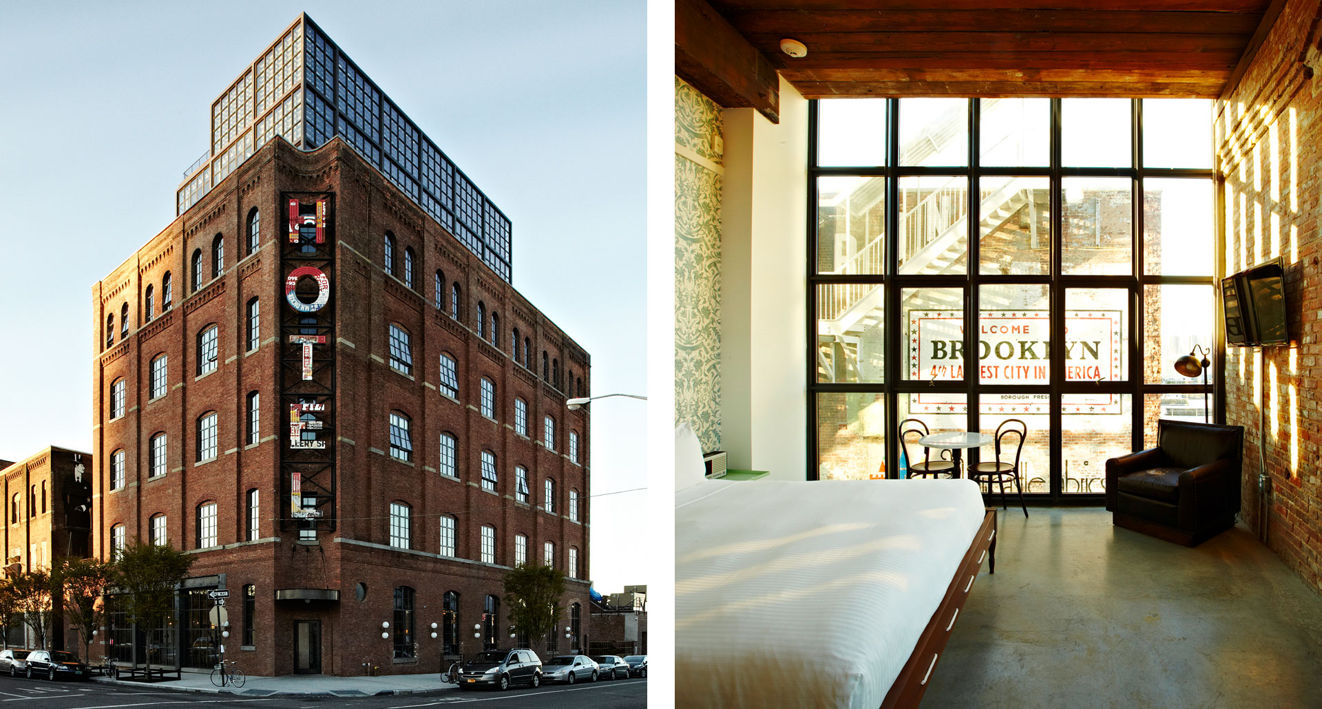 WYTHE HOTEL - boutique hotel in Brooklyn