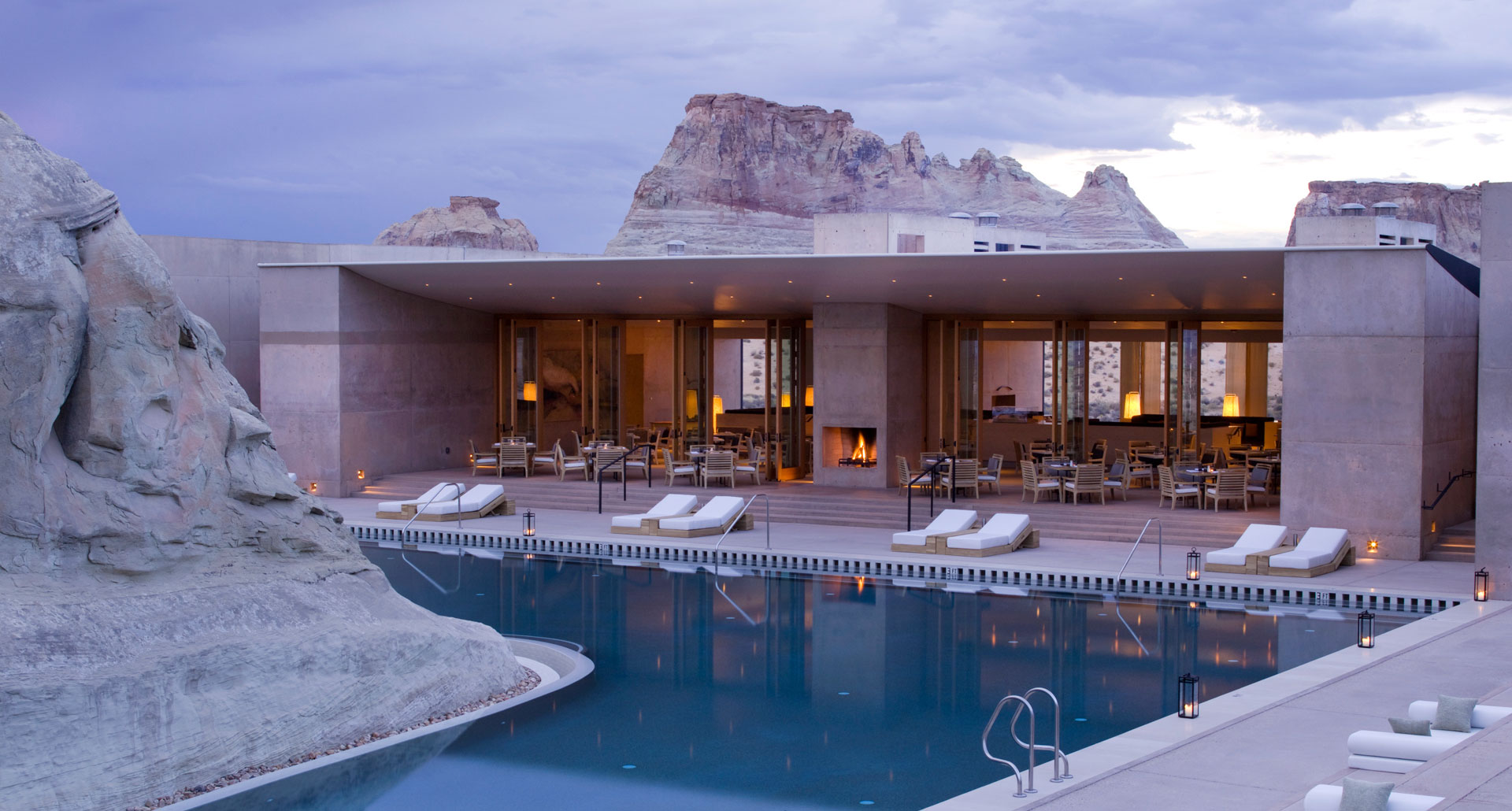 Amangiri - boutique hotel in Lake Powell