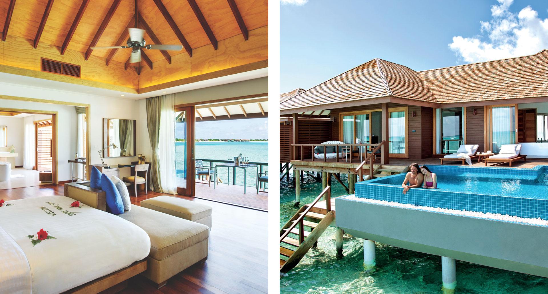 Hideaway Beach Resort & Spa - boutique hotel in Maldives