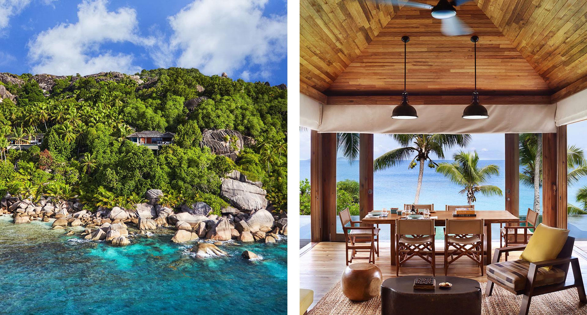 Six Senses Zil Pasyon - boutique hotel in Seychelles