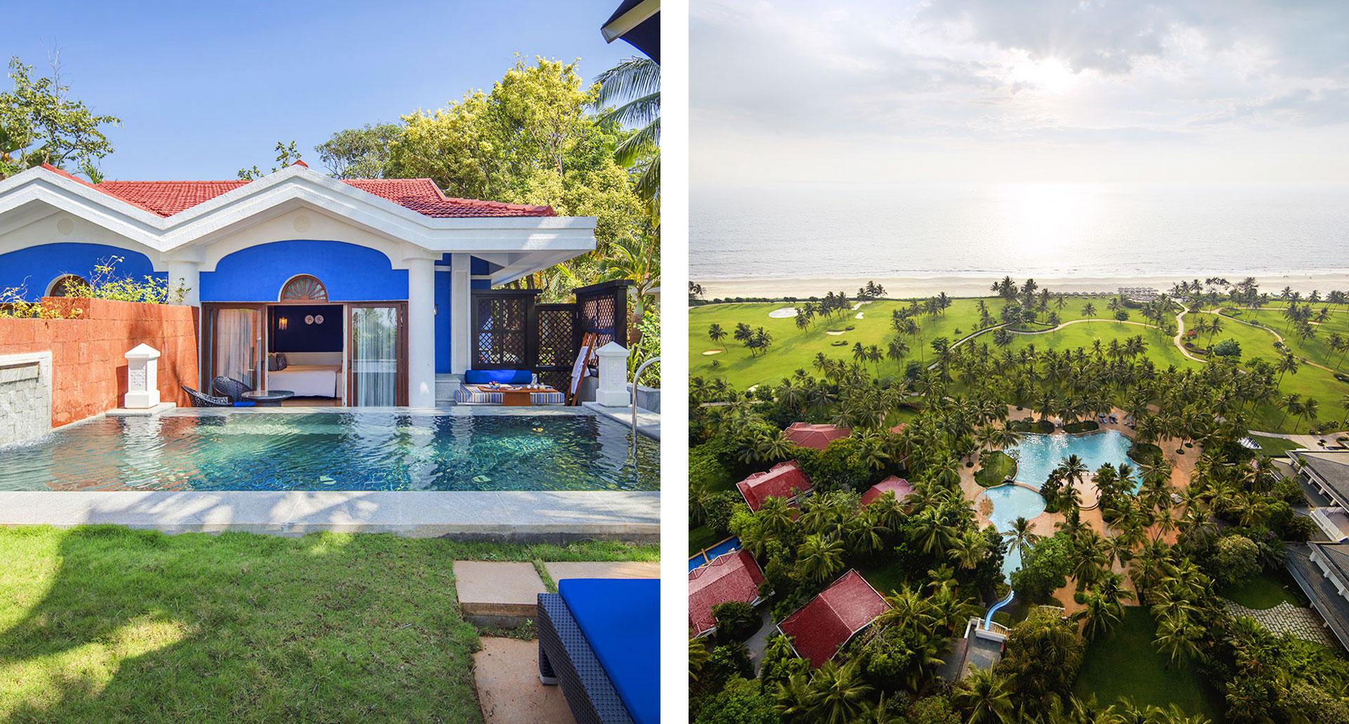 Taj Exotica Resort & Spa - boutique hotel in Goa