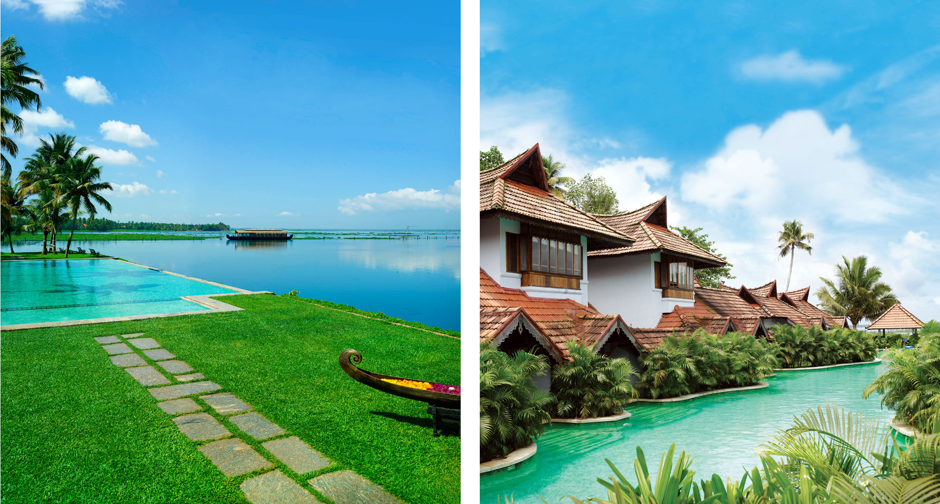 Kumarakom Lake Resort - boutique hotel in Kumarakom
