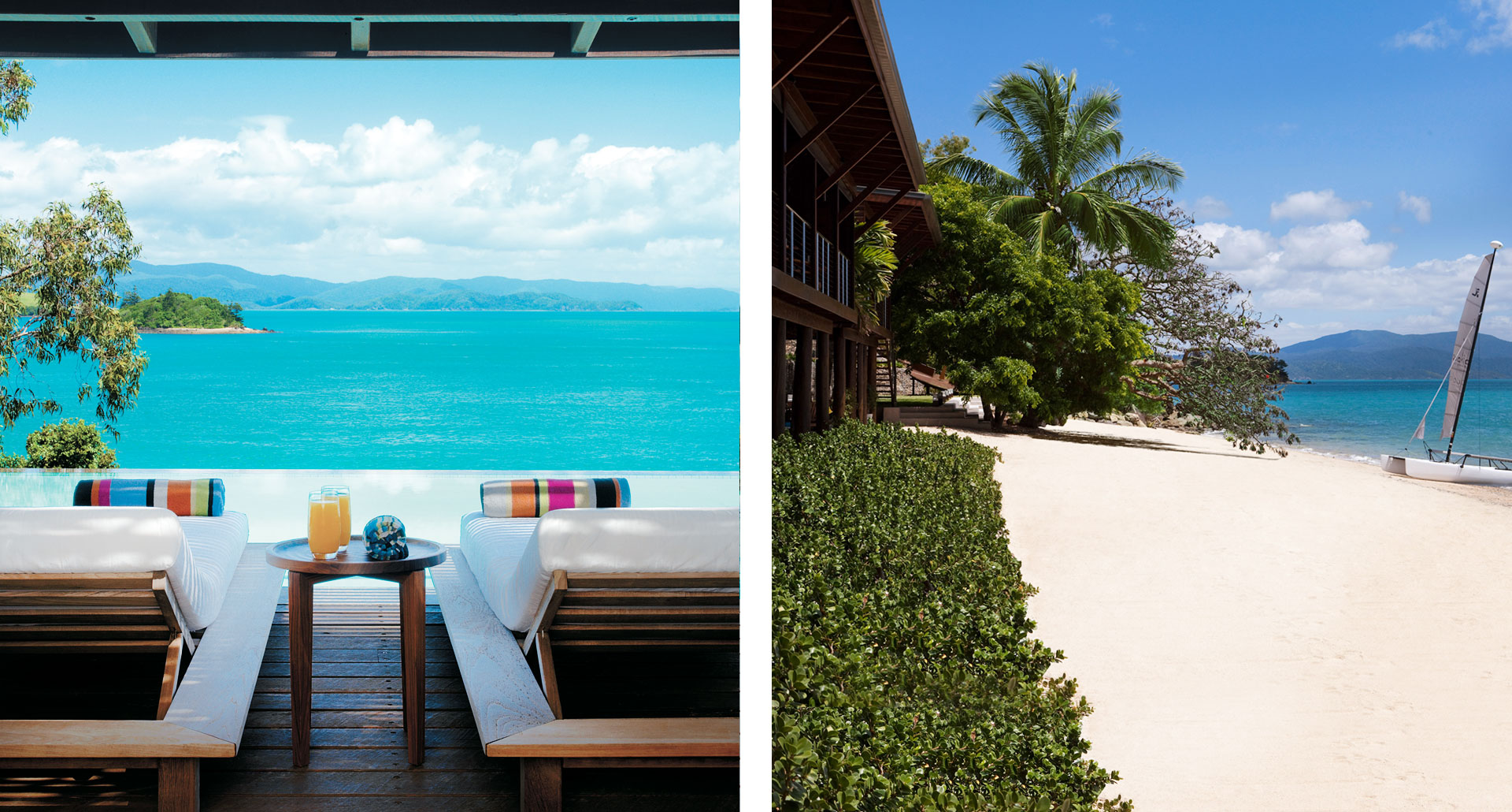 Qualia- boutique hotel in Great Barrier Reef Islands
