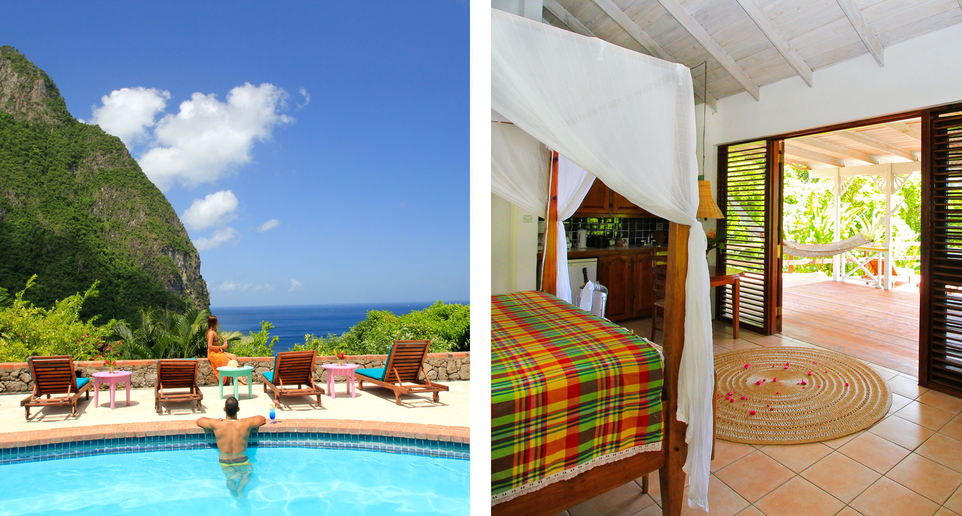 Stonefield Estate Resort - boutique hotel in Soufriere