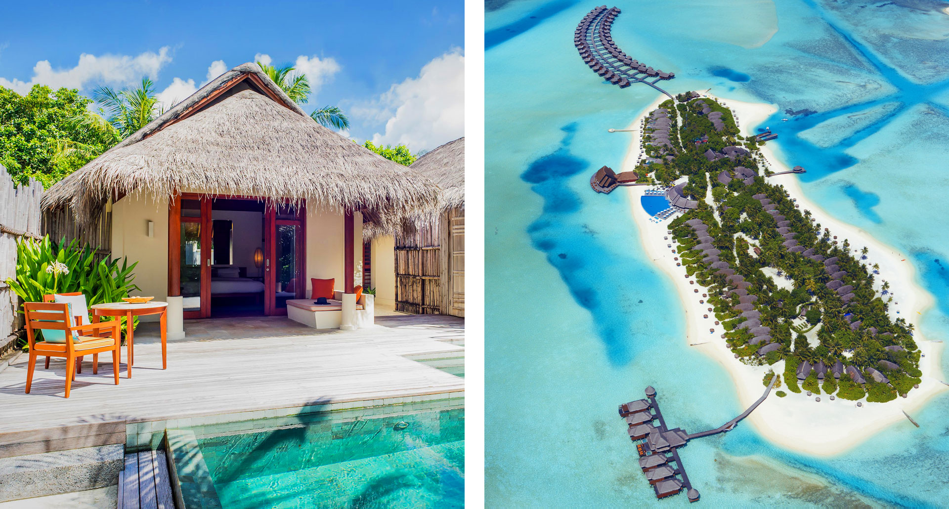 Anantara Dhigu Resort - boutique hotel in Maldives