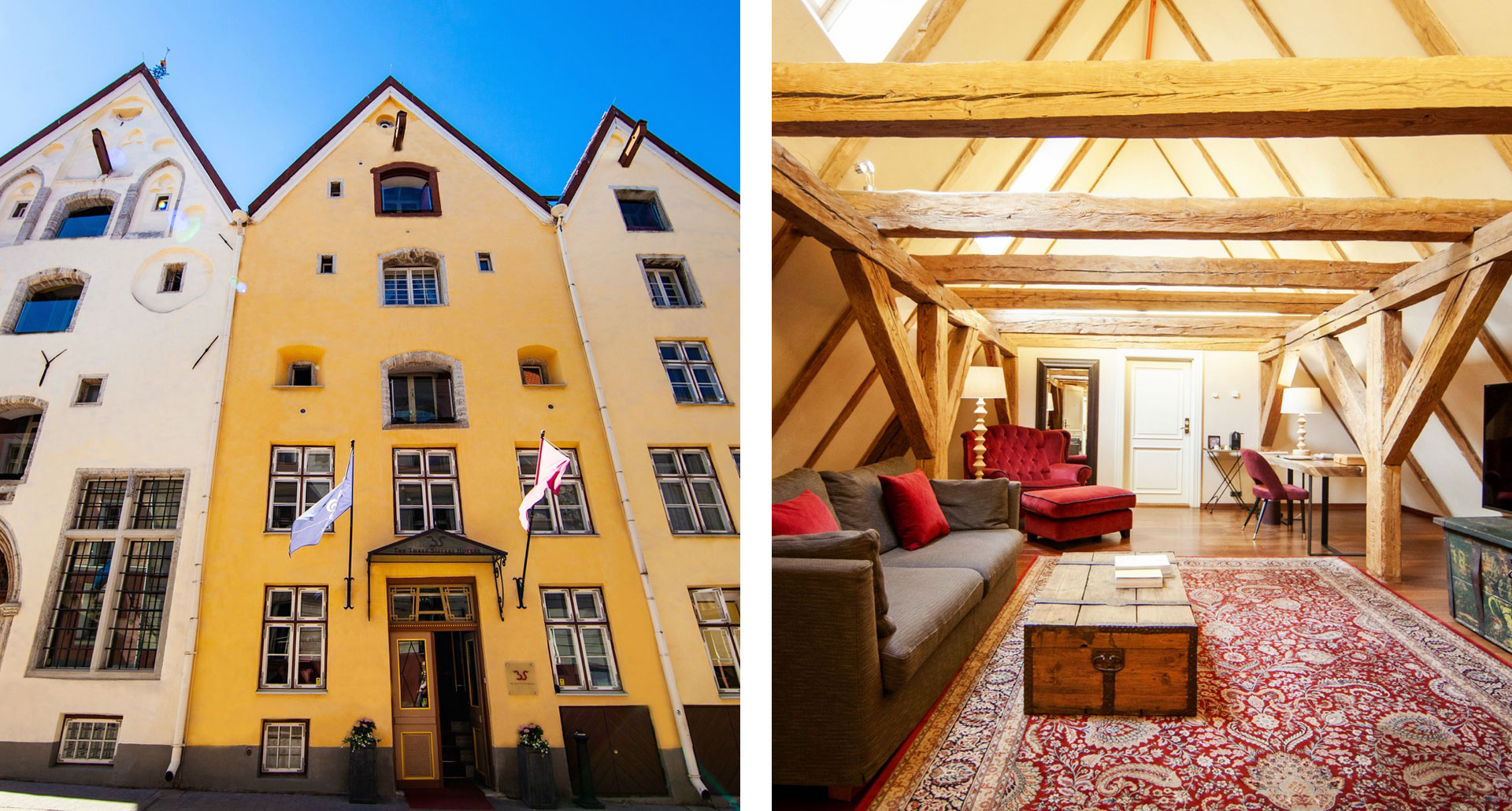 The Three Sisters Hotel - boutique hotel in Tallinn