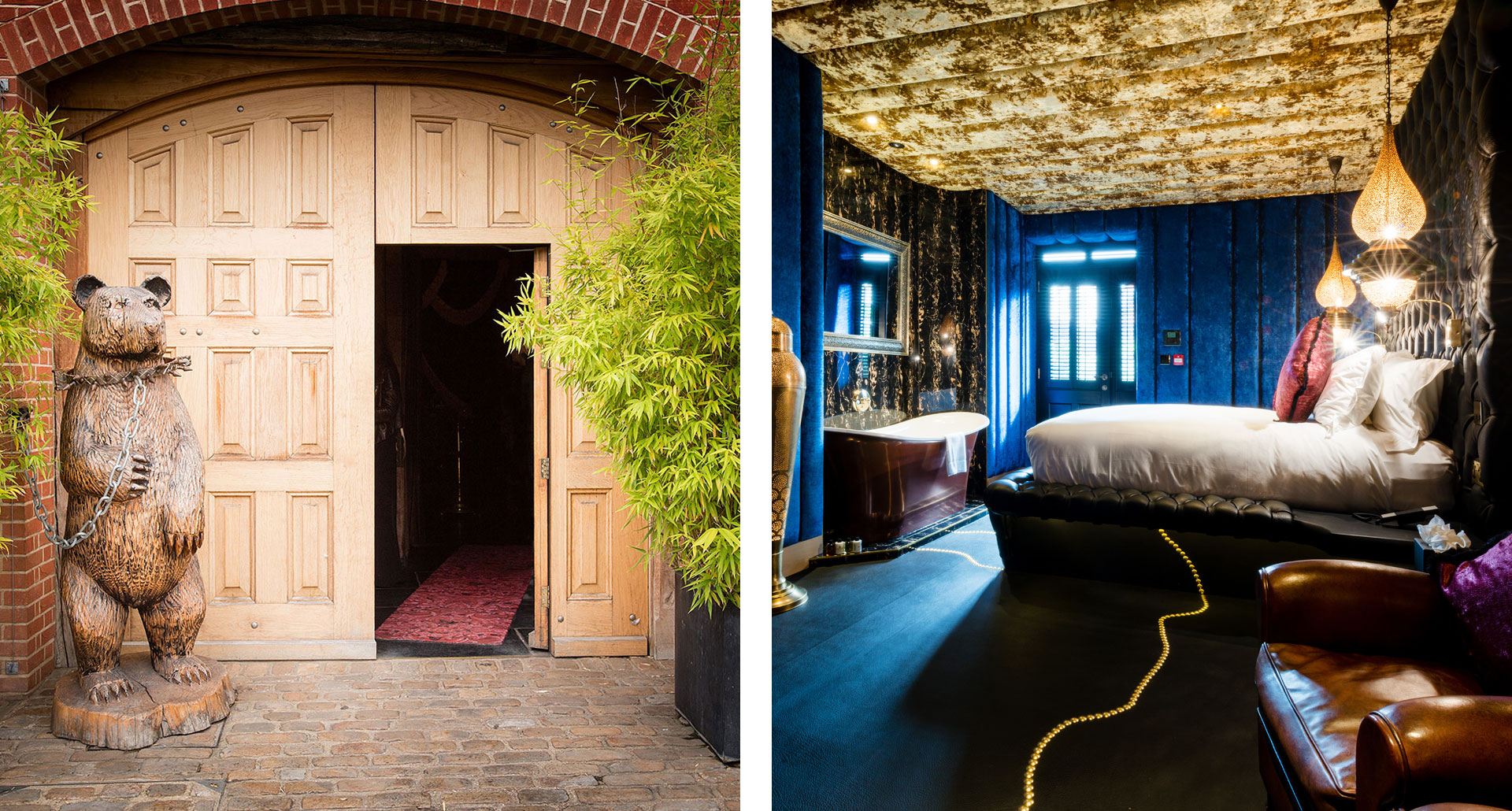 The Crazy Bear - boutique hotel in Beaconsfield