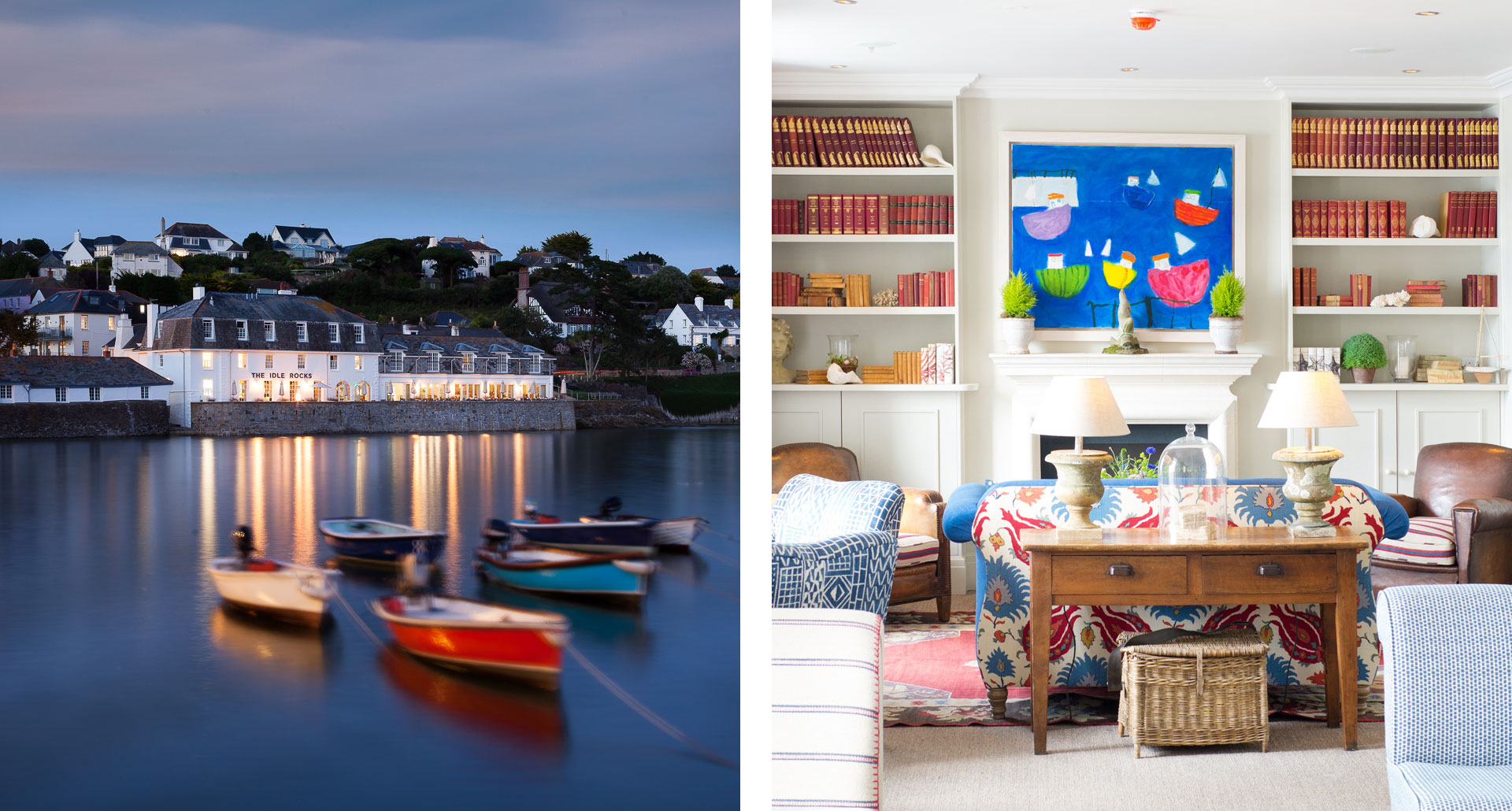 The Idle Rocks - boutique hotel in St Mawes