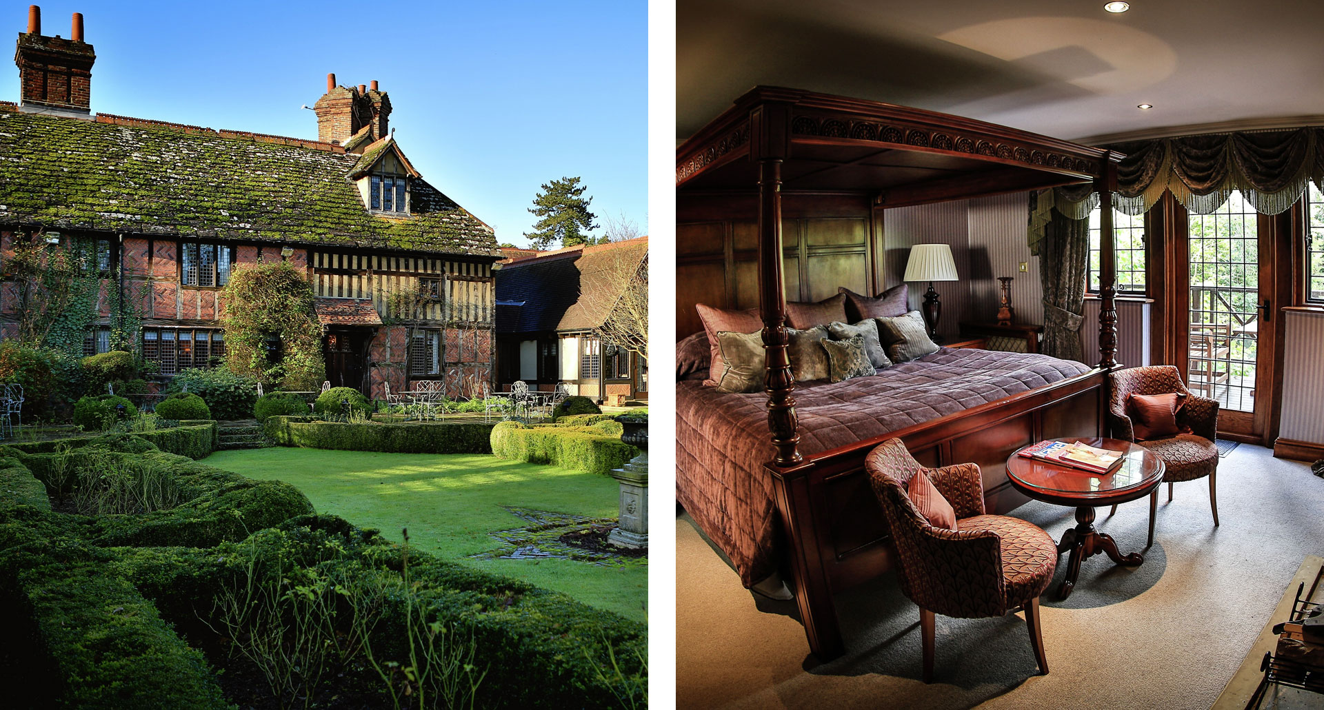 Langshott Manor Hotel - boutique hotel in Horley