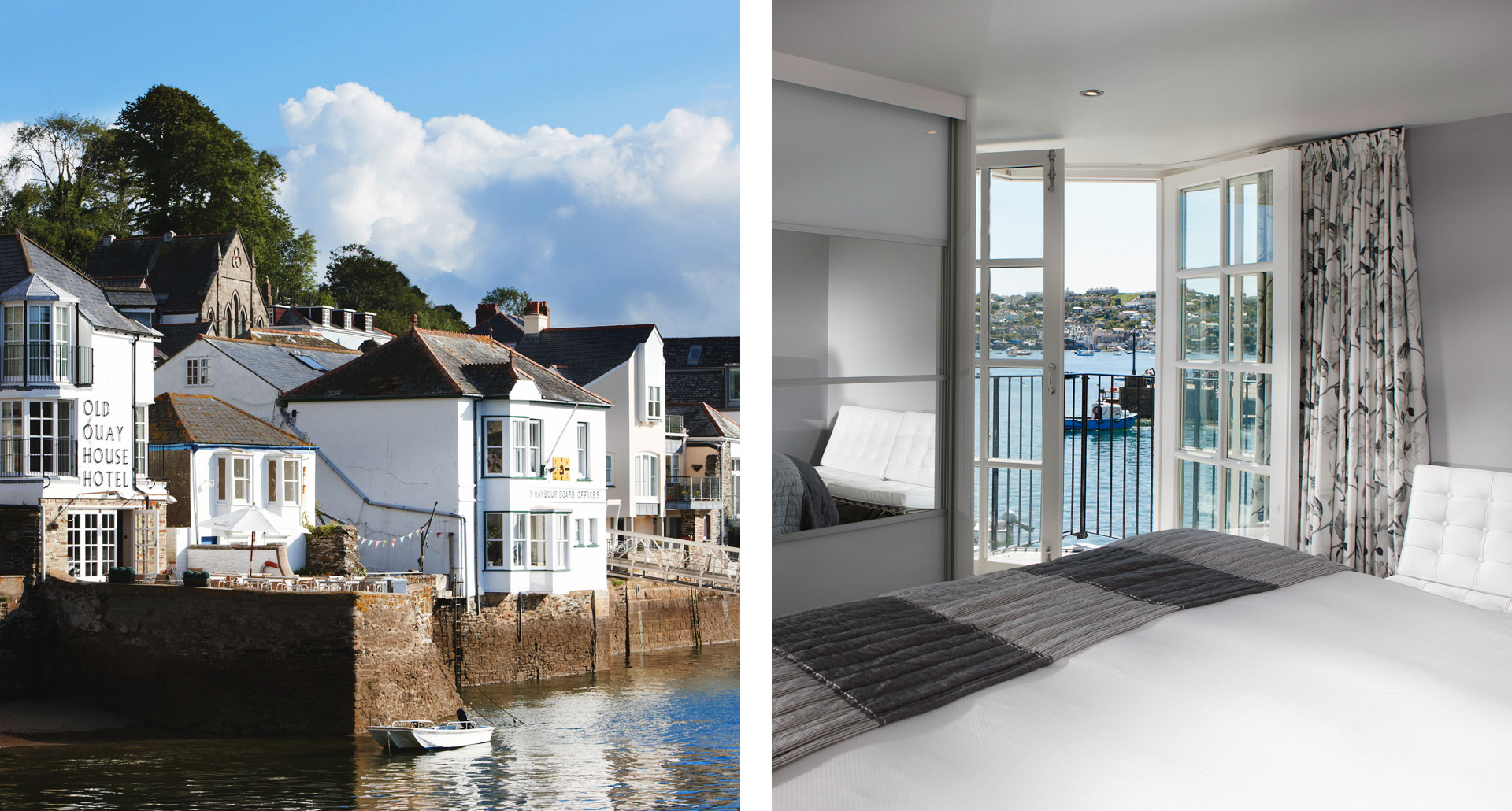 The Old Quay House - boutique hotel in Fowey