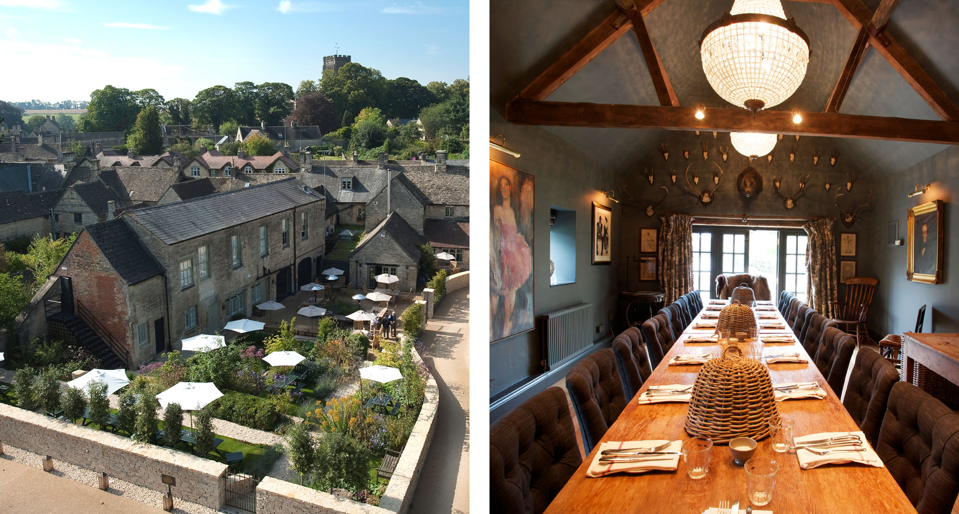 The Wheatsheaf Inn- boutique hotel in Northleach