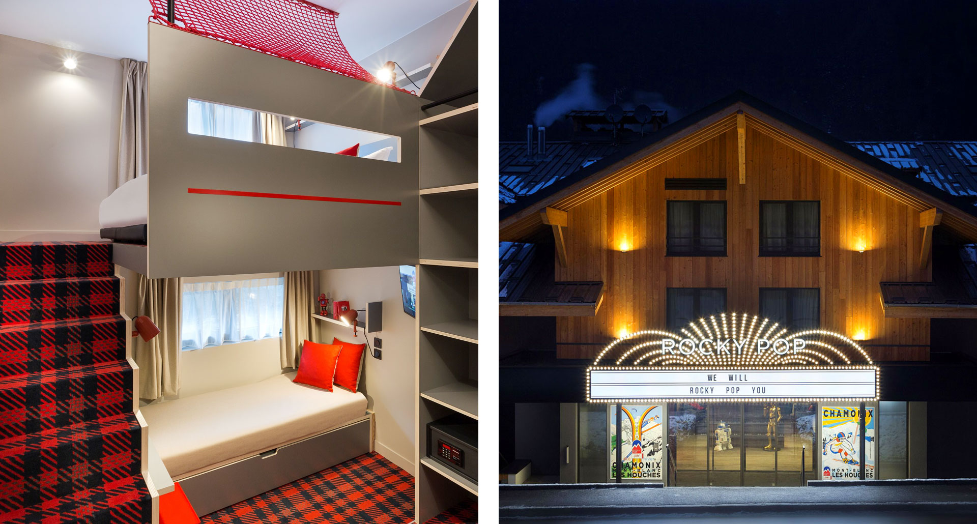 ROCKYPOP HOTEL- boutique lodge hotel in Les Houches, France