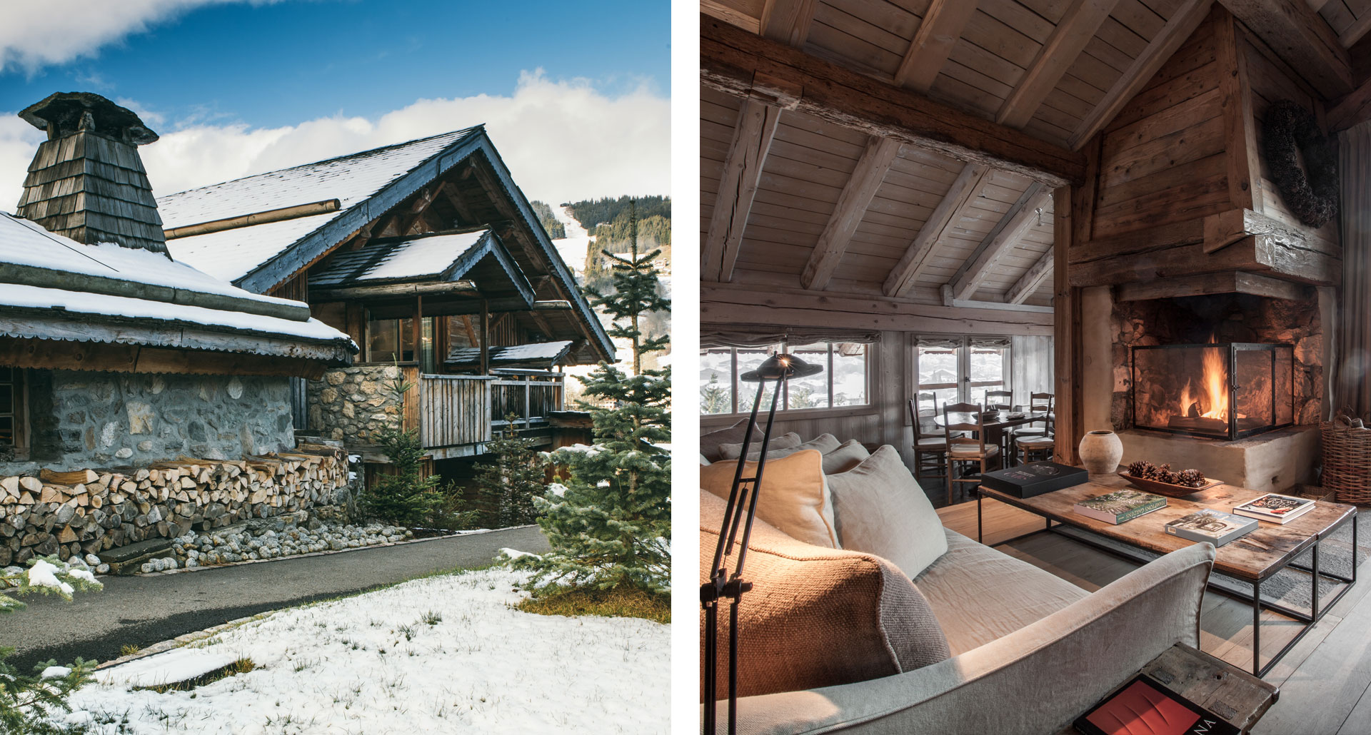 LE CHALET ZANNIER - boutique ski hotel Megève, France
