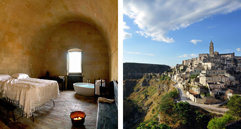 Sextantio Le Grotte della Civita - boutique hotel in Matera