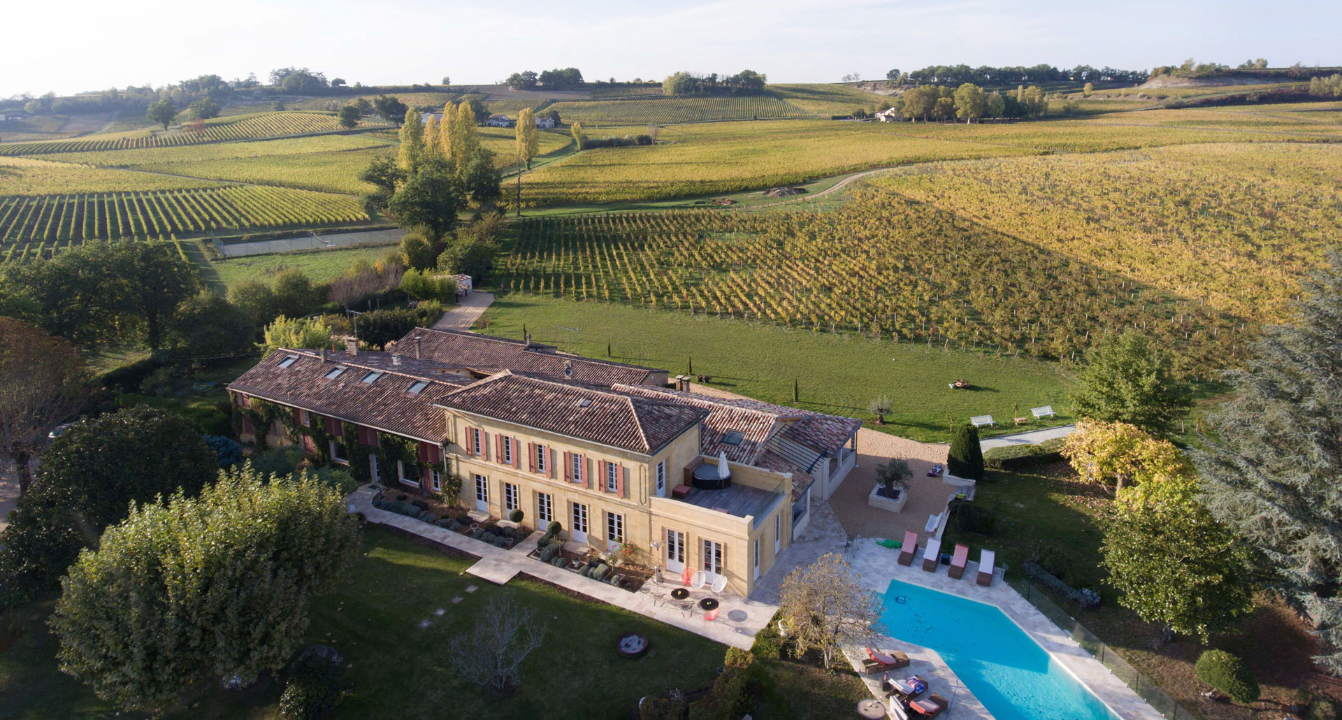 Chateau Du Palanquey & Spa - boutique hotel in Sainte-Colombe