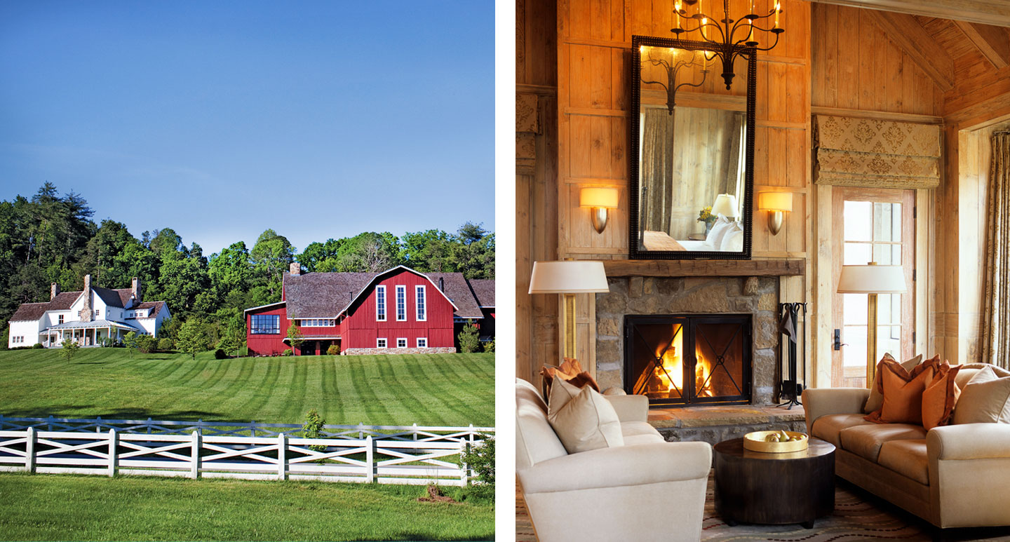 Blackberry Farm - boutique hotel in the Great Smoky Mountains