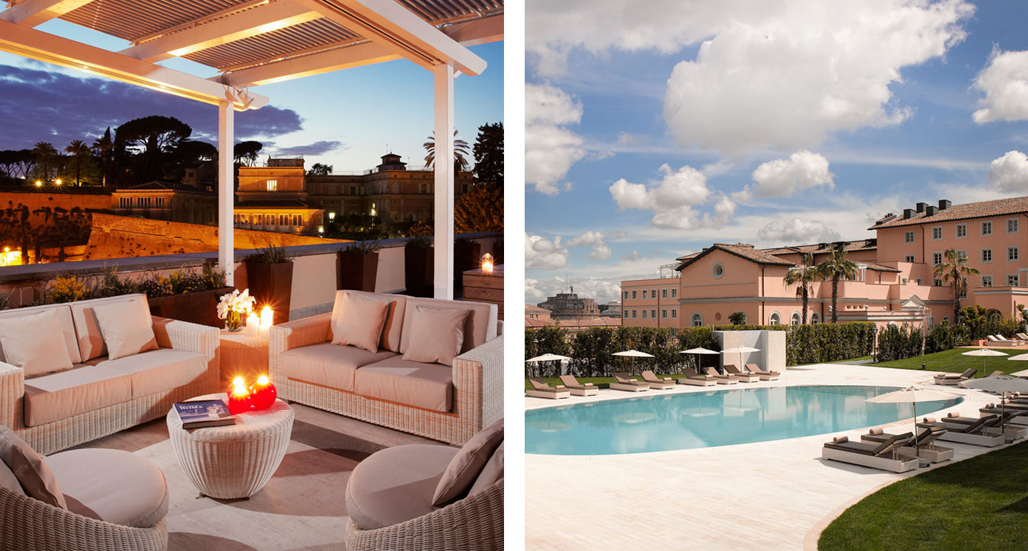 Gran Melia - boutique hotel in Rome