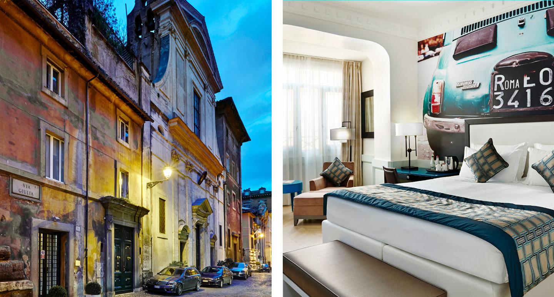 Hotel Indigo Rome - boutique hotel in Rome