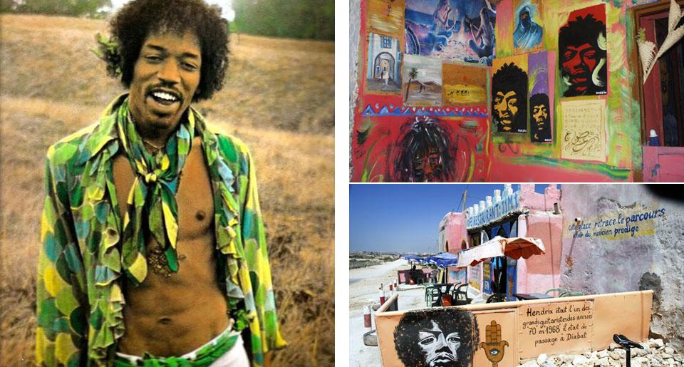 Hendrix in Morrocco