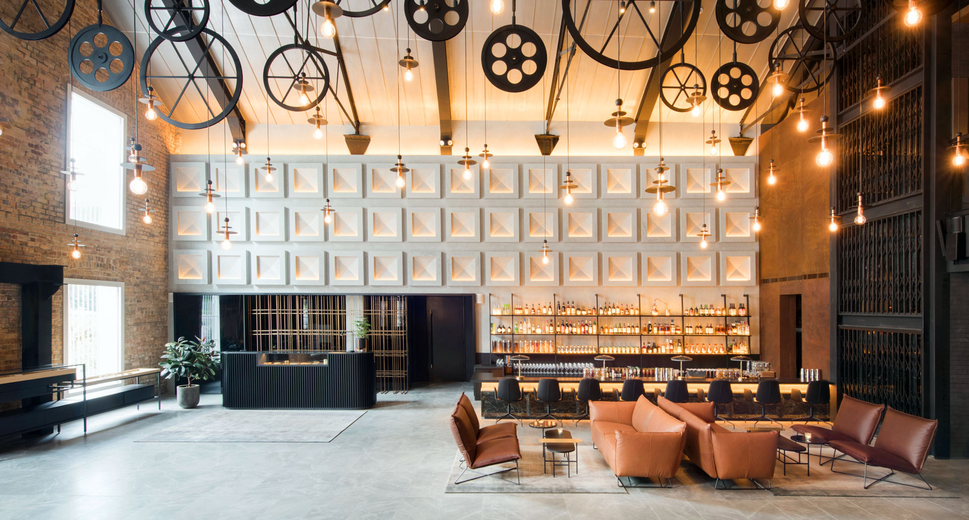 Industrial design boutique hotels factories turned for Tablet boutique hotels