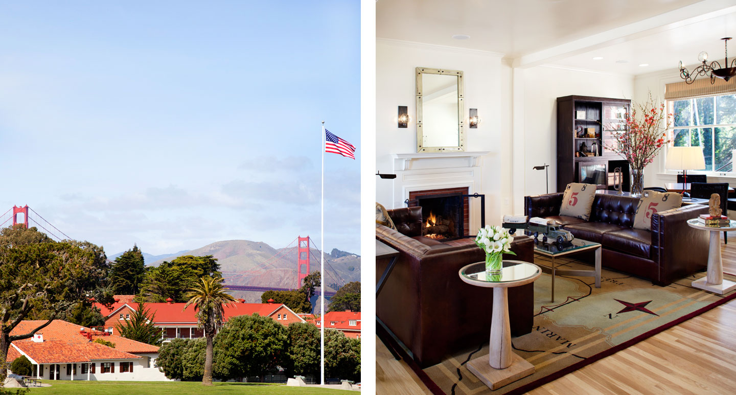 Inn at the Presidio - boutique hotel in San Francisco Bay Area